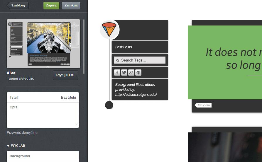 Screen 21 Poznaj darmowe szablony na tumblr! 10 Popularnych Propozycji
