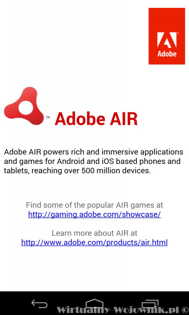 Darmowe Aplikacje na Android - Adobe Reader & Adobe Air