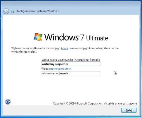 Konfiguracja wstępna – jak zainstalować Windows 7 z płyty?
