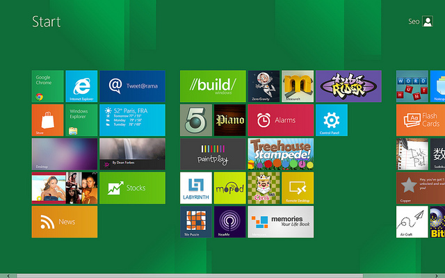 windows 8 triki