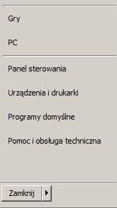 panel sterowania-myszka