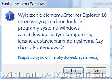 jak usunąć internet explorer