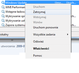 Jak wyłączyć aktualizacje w Windows 7