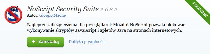 NoScrpit Security Suite