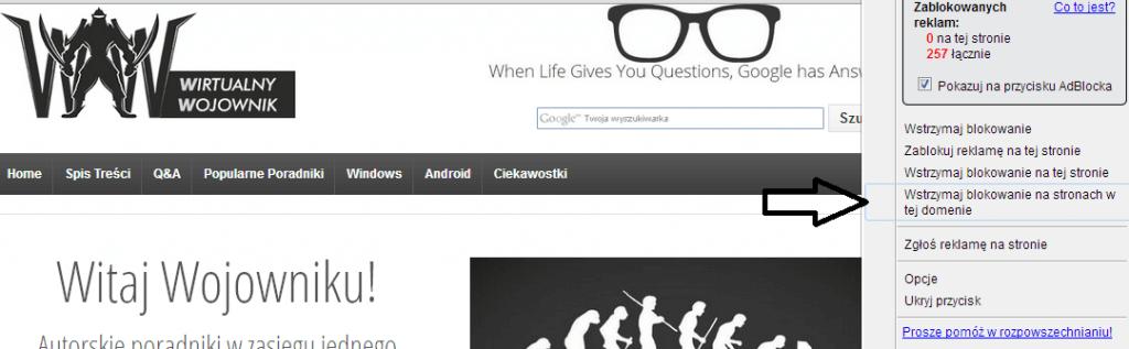 211 1024x317 Czy wiesz jak wyłączyć reklamy? FireFox | Chrome | IE | Opera