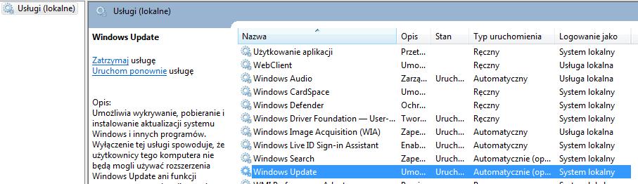 Windows Update-usługi-systemu-windows