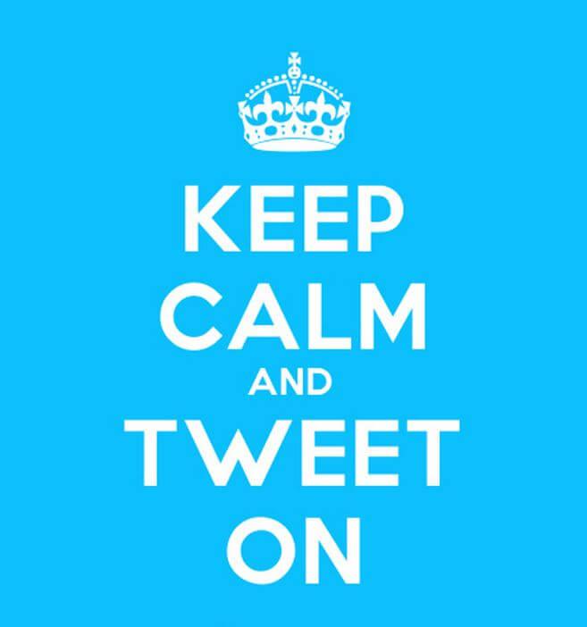 keep-calm-and-tweet-on