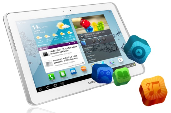 tablet-amsung Galaxy Tab 2 10.1