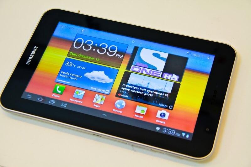 Samsung Galaxy Tab 2 7.0 8GB 3G GT-P3100-cena-opinie-testy-porownanie