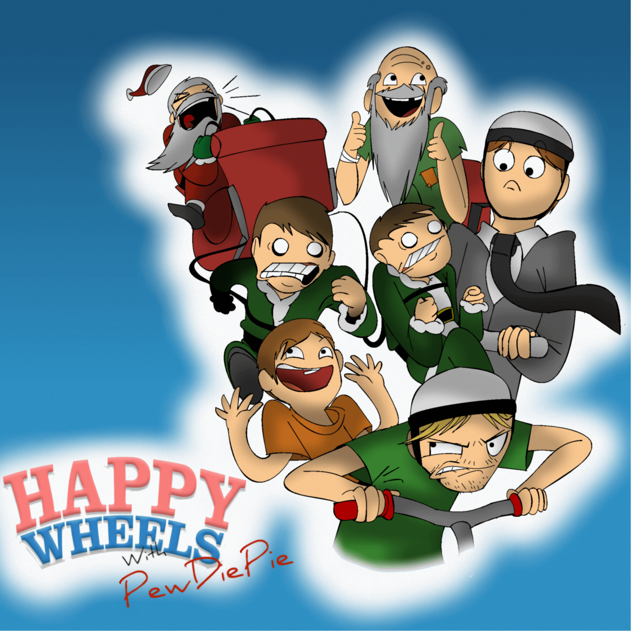 happy wheels 3 spielen