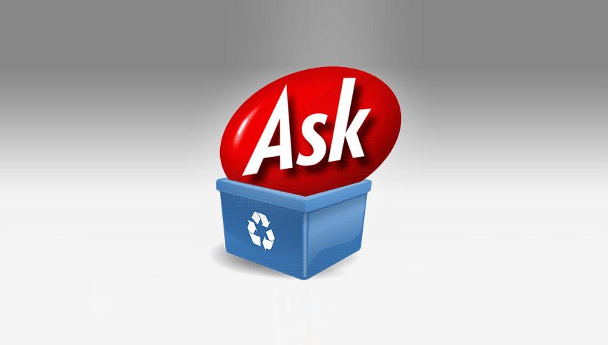 jak usunąć aska z przeglądarki